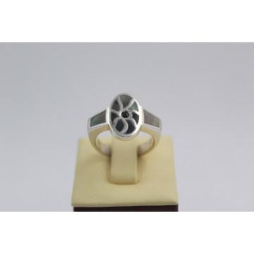 РАЗПРОДАЖБА -50% Сребърен седефен пръстен 2979