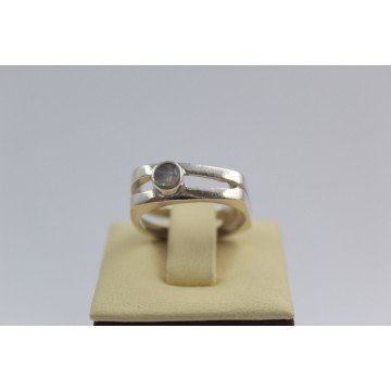 Дамски сребърен пръстен със седеф 2983