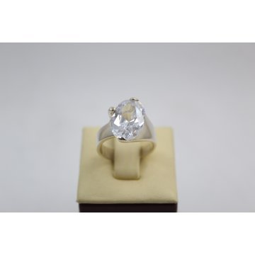 Дамски сребърен пръстен с камък 3006