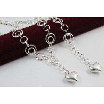 Дамски сребърен комплект - Мирела Вертиго 3056
