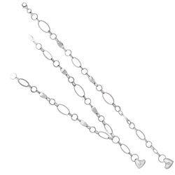 Дамски сребърен комплект Мирела Вертиго 3056
