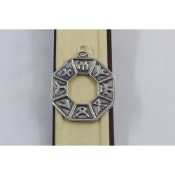 Сребърен медальон Зодиак 3071