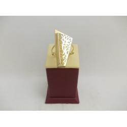 Златен дамски пръстен Пиано Голямо 3078