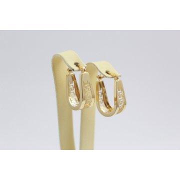 Златни обеци за жени жълто злато 3269