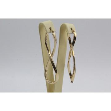 Златни обеци за жени жълто злато 3270