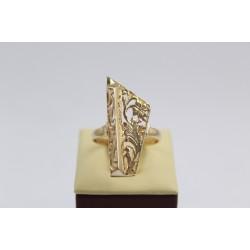 Дамски златен пръстен Пиано жълто злато 3366