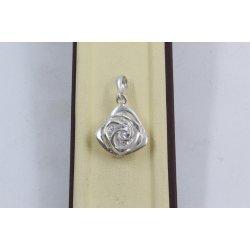 Дамски сребърен медальон Роза Нео 3527