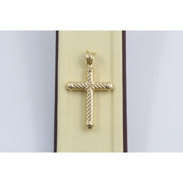Златен кръст за кръщене жълто злато 3600