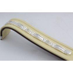 Сребърна гривна на елементи 3764