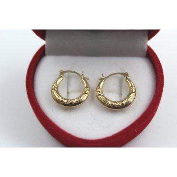 Дамски златни обеци жълто злато 3796