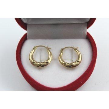 Дамски златни обеци жълто злато 3816