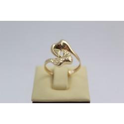 Златен дамски пръстен жълто злато 3832