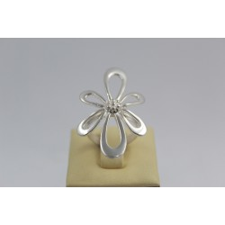Дамски сребърен пръстен Цвете 3837