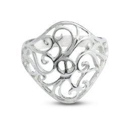 Дамски сребърен пръстен Ретро 3839