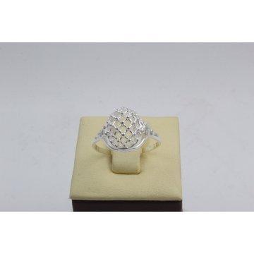 Дамски сребърен пръстен 3924