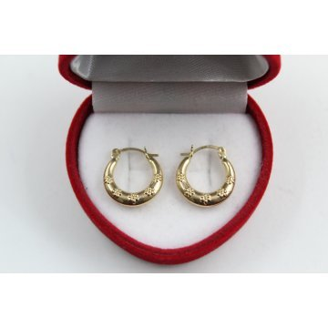 Дамски златни обеци жълто злато 4110
