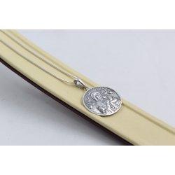 Дамско сребърно колие Богородица 4141