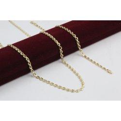 Дамски златен комплект колие гривна бяло жъто злато 4151