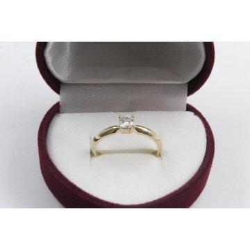 Дамски златен годежен пръстен 4171