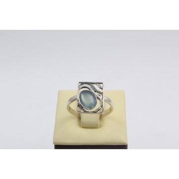 Дамски сребърен пръстен Лунна Нощ 4224