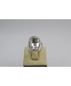 Сребърен дамски пръстен със Swarovski Elements Бял 4236