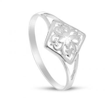 Сребърен дамски ретро пръстен 4236