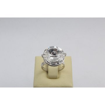 Сребърен дамски пръстен със Swarovski Elements Crystal 4243