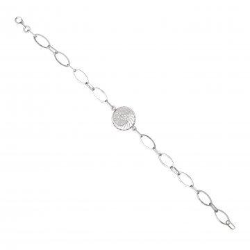 Дамска сребърна гривна Шейла 4304