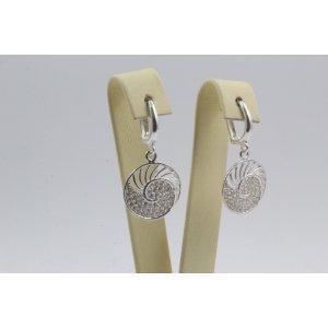 Дамски сребърни обеци Шейла 4303