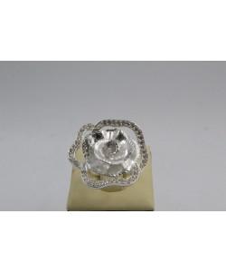 Дамски сребърен пръстен Божур 4340
