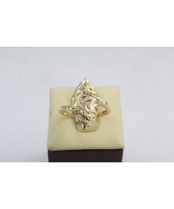 Златен дамски пръстен Бадем Нео жълто злато 4405