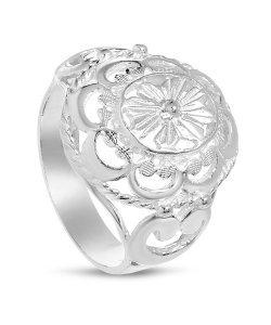 Дамски сребърен пръстен Корона 1 ретро модел 4406