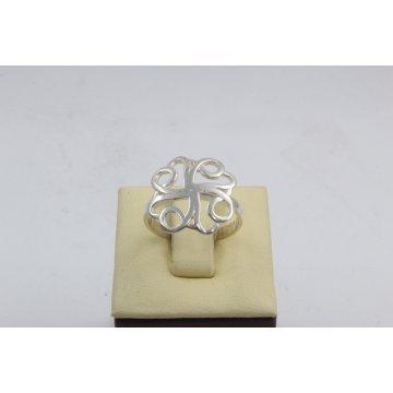 Дамски сребърен пръстен Цвете 4407