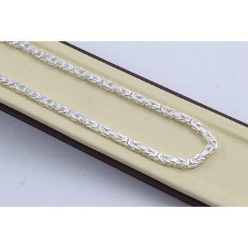 Сребърна верижка кралска плетка 4423