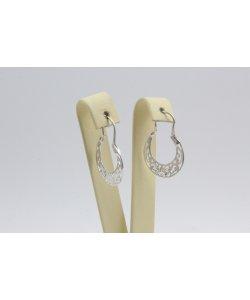 Дамски сребърни обеци Испанка 1 ретро модел 4428