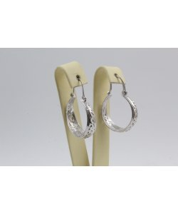 Дамски сребърни обеци Испанка 2 ретро модел 4429