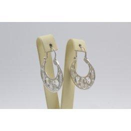 Дамски сребърни обеци Испанка 3 ретро модел 4430
