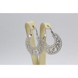 Дамски сребърни обеци Испанка 4 ретро модел 4431