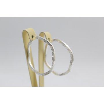 Дамски сребърни обеци Испанка 5 ретро модел 4432