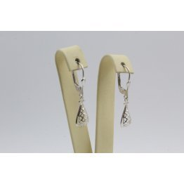 Дамски сребърни обеци Испанка 7 ретро модел 4435