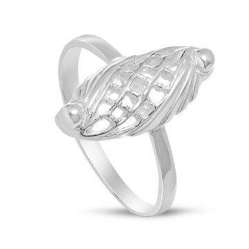 Дамски сребърен пръстен Бадем Мини 1 ретро модел 4441