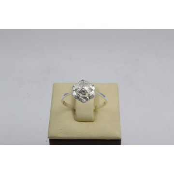 Дамски сребърен пръстен Ретро 4 4443