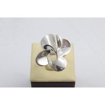 Дамски сребърен пръстен Хризантема 4492