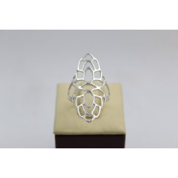 Дамски сребърен пръстен 4766