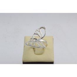 Дамски сребърен пръстен Пеперуди 4527