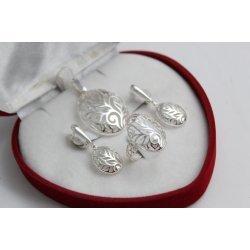 Дамски сребърен комплект 4531