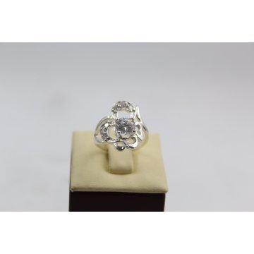 Дамски сребърен пръстен с камъни 2993