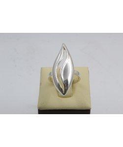 Дамски сребърен изчистен пръстен 4538