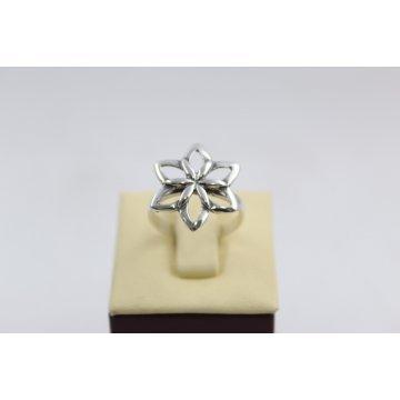 Сребърен дамски пръстен тъмно сребро 620