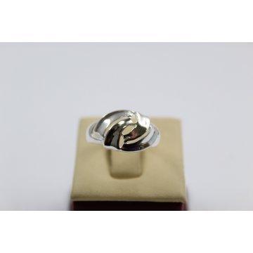 Дамски сребърен пръстен 4543